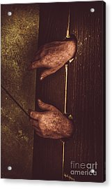 At Hand Of Public Humiliation Acrylic Print by Jorgo Photography - Wall Art Gallery
