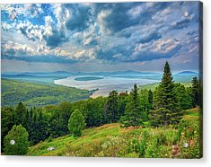 At Height Of Land Acrylic Print