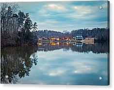 At Home On The Lake Acrylic Print