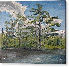 At Islands Lake No1 Acrylic Print by Francois Fournier