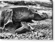 At Low Tide Acrylic Print by Joseph S Giacalone
