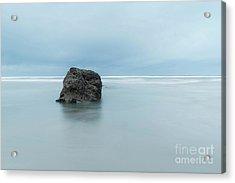 At Neptune Beach, Or Acrylic Print by Masako Metz