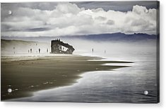 At Peter Iredale Shipwreck Acrylic Print