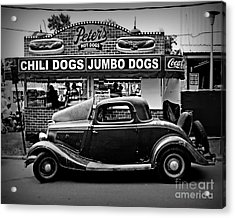 At Peter's 2 Acrylic Print by Perry Webster
