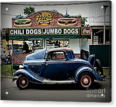 At Peter's Acrylic Print by Perry Webster
