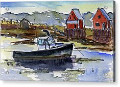 At Rest Acrylic Print by Mary Byrom