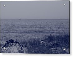 At Sea Acrylic Print by Christopher Kirby