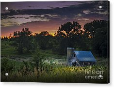 At Sundown Acrylic Print by Lisa Phillips