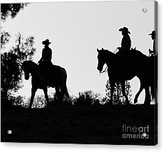 At Sunset On The Ranch Acrylic Print