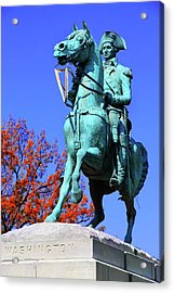 At The Battle Of Princeton Acrylic Print