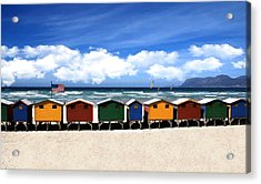 Acrylic Print featuring the photograph At The Beach by David Dehner