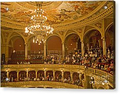 At The Budapest Opera Acrylic Print