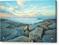 At The Corner Of Beach And Jetty Street Acrylic Print