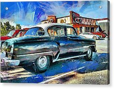 At The Drive-in Acrylic Print