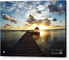 At The End Of Paradise Acrylic Print