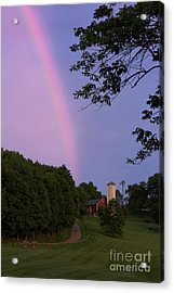 At The End Of The Rainbow Acrylic Print by Nicki McManus