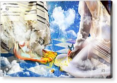 At The Feet Of Jesus Acrylic Print