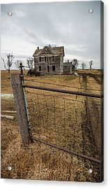 Acrylic Print featuring the photograph At The Gate  by Aaron J Groen