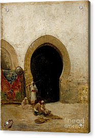 At The Gate Of The Seraglio Acrylic Print