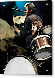 The Helm  Levon Helm  Acrylic Print