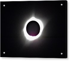 At The Moment Of Totality Acrylic Print