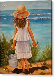 At The Seashore Acrylic Print