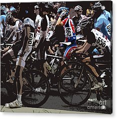 At The Starting Gate Acrylic Print by Steven Digman