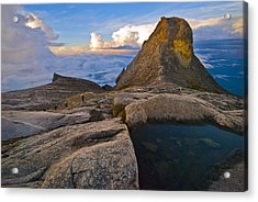 Acrylic Print featuring the photograph At The Summit by Ng Hock How