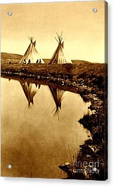 At The Waters Edge 1910 Acrylic Print