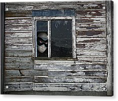 At The Window Acrylic Print