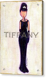 At Tiffany's Acrylic Print