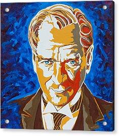 Ataturk Acrylic Print by Dennis McCann