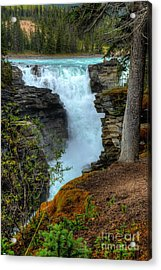 Athabasca Falls Jasper National Park Acrylic Print