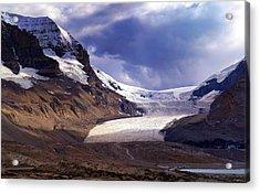 Athabasca Glacier Acrylic Print by Heather Vopni