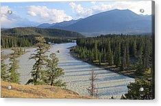 Athabasca River - Jasper Acrylic Print