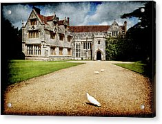 Athelhamptom Manor House Acrylic Print