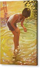 Athena Wading Acrylic Print
