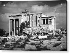 Athens Acrylic Print by Alessia Cerqua