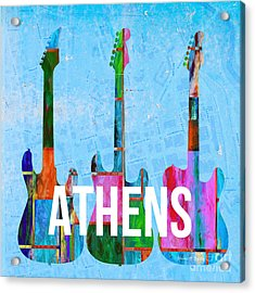 Athens Ga Music Scene Acrylic Print