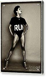 Athletic Woman Acrylic Print