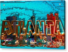 Atlanta 2016 By Nico Bielow Acrylic Print