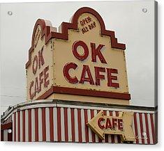 Atlanta Classic Ok Cafe Atlanta Restaurant Art Acrylic Print