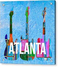 Atlanta Music Scene Acrylic Print
