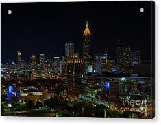 Atlanta Nights Acrylic Print