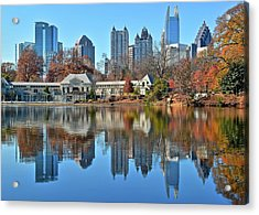 Atlanta Reflected Acrylic Print by Frozen in Time Fine Art Photography