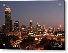 Atlanta Skyline - Scad Acrylic Print