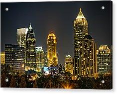 Atlanta Skyscrapers  Acrylic Print