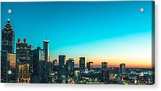 Atlanta Tonight Acrylic Print