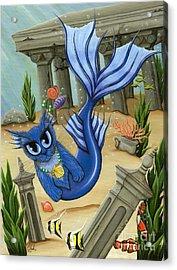 Atlantean Mercat Acrylic Print