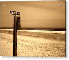 Atlantic Beach Acrylic Print by Utopia Concepts
